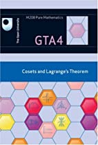 Group Theory GTA4: Cosets and Lagrange's…
