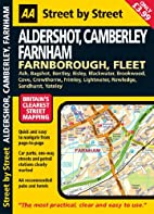 AA Street by Street Aldershot, Camberley and…