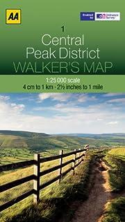 Walker's Map Central Peak District AA af AA…