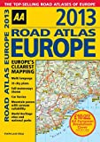 AA 2013 road atlas Europe