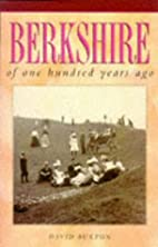 Berkshire of one hundred years ago by David…