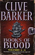 Books Of Blood 4-6 by Clive Barker