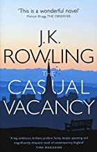 Book cover: The Casual Vacancy