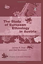 The study of European ethnology in Austria…