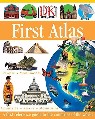 DK First Atlas (DK First Reference Series), Ganeri, Anita; Oxlade, Chris