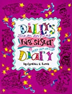 Dillys Big Sister Diary by Cynthia Copeland…