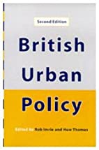 British Urban Policy: An Evaluation of the…
