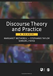 Discourse Theory and Practice: A Reader…