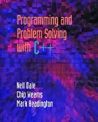 Programming and Problem Solving With C by…