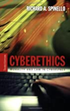 Cyberethics: Morality And Law in Cyberspace…