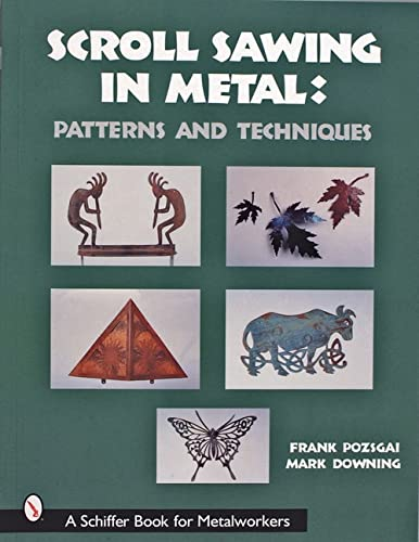 Image for Scroll Sawing in Metal (Schiffer Book for Metalworkers)