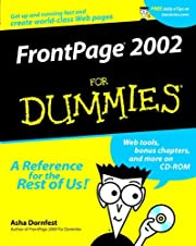 FrontPage 2002 For Dummies – tekijä: Asha…