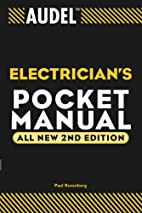 Audel Electrician's Pocket Manual, 2nd…
