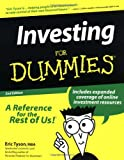 Investing for Dummies (Book) written by Eric Tyson
