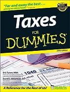 Taxes for Dummies 2002 by Eric Tyson