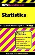 Statistics: Cliffs Quick Review by David H.…