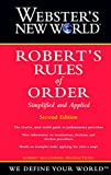 Webster's New World Robert's Rules of Order (Book) written by RM Productions