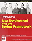 couverture du livre Professional Java Development with the Spring Framework