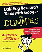 Building Research Tools with Google For…