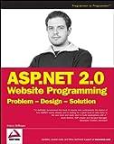 couverture du livre Asp.net 2.0 Web Site Programming: Problem-design-solution