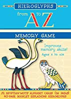 Hieroglyphs from A to Z Memory Game [With…