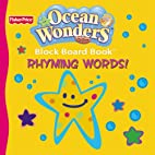 Ocean Wonders Block Board Book Rhyming Words…