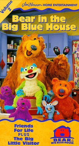 Bear in the Big Blue House, Vol. 2 - Friends for Life ...