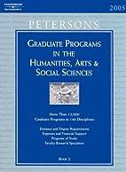 Peterson's Graduate Programs in the…