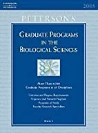 Grad Guides Book 3: Biological Science 2006…