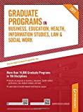 Peterson´s graduate programs in business, education, health, information studies, law & social work 2011