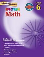 Spectrum Math, Grade 6 by Thomas Richards