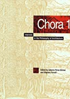 Chora 1: Intervals in the Philosophy of…