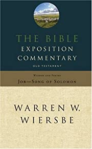 The Bible Exposition Commentary: Wisdom and…