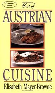 Best of Austrian Cuisine de Elisabeth…