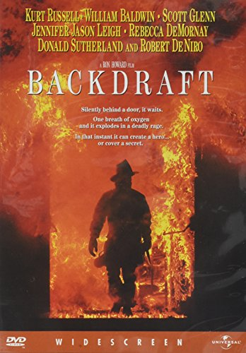 DVD バックドラフト  生き物のようにうごめく炎に立ち向かう男たち。殉職した消防士の父の後を継