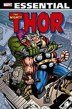 Essential Thor, Volume 4 by Stan Lee