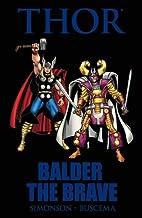 Thor: Balder the Brave by Walter Simonson