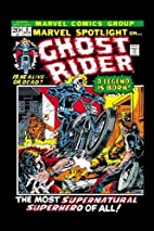 Ghost Rider: Official Index to the Marvel…