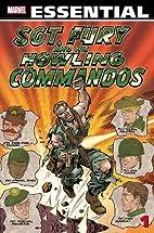 Essential Sgt. Fury, Volume 1 by Stan Lee