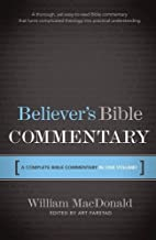 Believer's Bible Commentary by William…