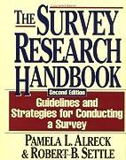 The Survey Research Handbook by Pamela L.…