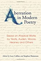 Aberration in Modern Poetry: Essays on…