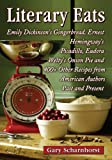 Literary eats : Emily Dickinson's gingerbread, Ernest Hemingway's picadillo, Eudora Welty's onion pie and 400+ other recipes from American authors past and present / Gary Scharnhorst