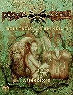 Planescape: Monstrous Compendium Appendix II…