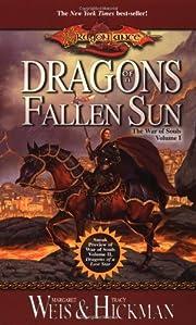 Dragons of a fallen sun av Margaret Weis