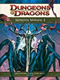Monster Manual 3: A 4th Edition D&d Core Rulebook (