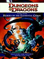 Player's Option: Heroes of the Elemental…