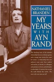 My Years with Ayn Rand de Nathaniel Branden