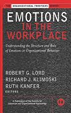 Emotions in the Workplace: Understanding the…