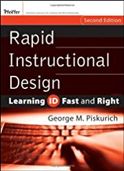 Rapid Instructional Design: Learning ID Fast…